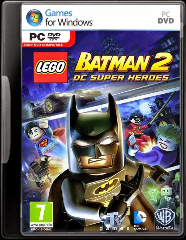 LEGO BATMAN 2 DC SUPER HEROES CLONEDVD - PC GAMES - PC ...