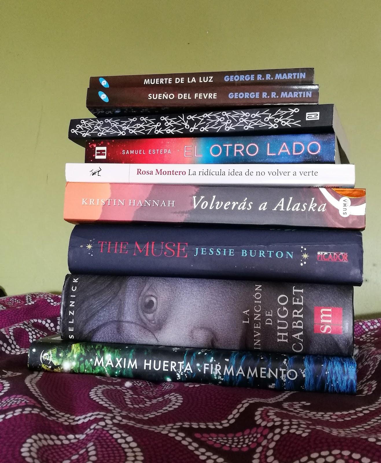 Este es el botín de libros que he conseguido este mes. Para ser el mes del  libro me he portado muy bien, porque no he pecado tanto como me gustaría  (ni he ...