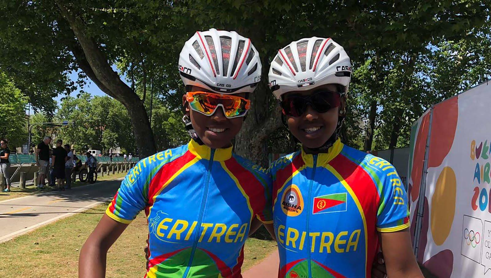 <Cycling bigger than football in Eritrea, says Youth Olympics star
