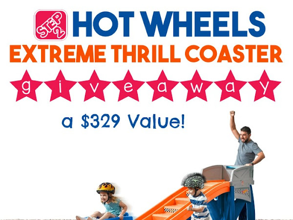 Step2 Extreme Thrill Coaster Giveaway {$329 Value!}