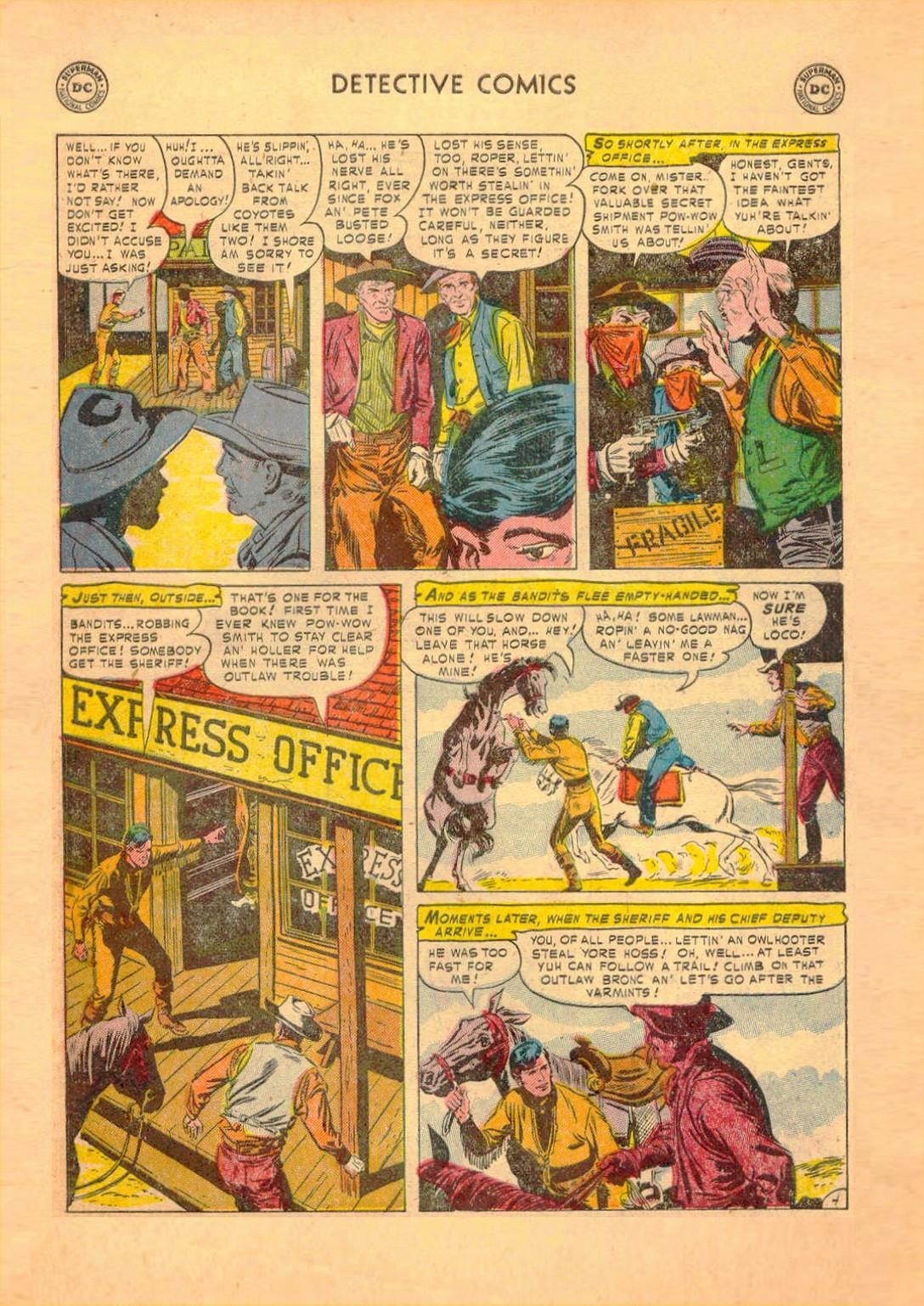 Read online Detective Comics (1937) comic -  Issue #182 - 36