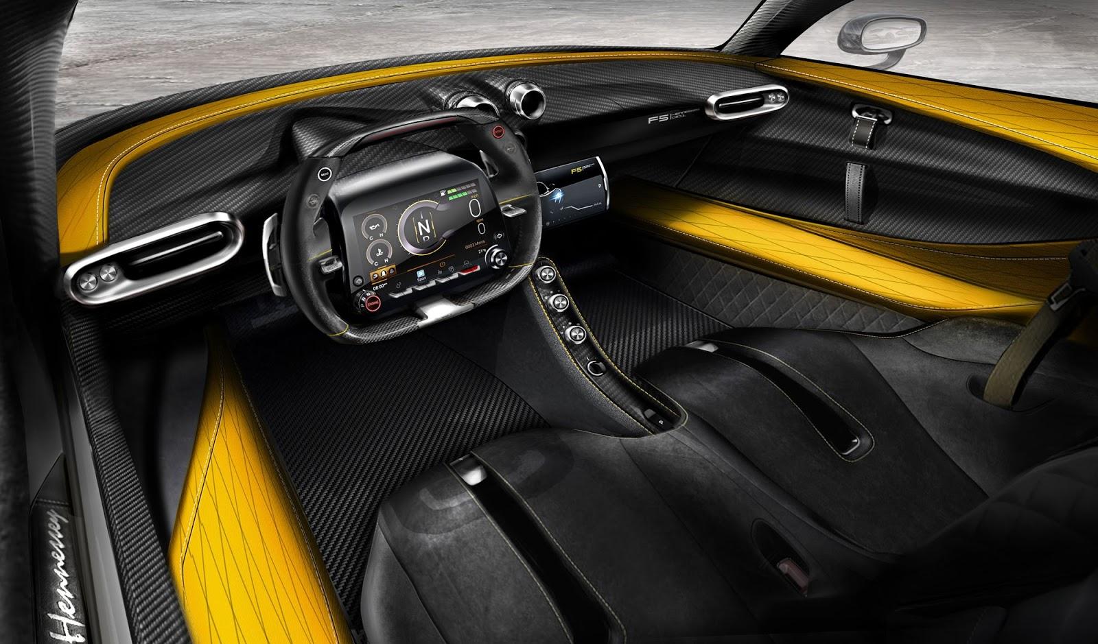 Venom Gt 2017 >> Hennessey Reveals Carbon Fiber Interior Of Venom F5 | Carscoops