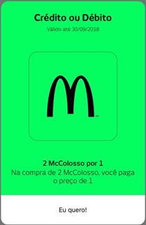 next, do Bradesco, fecha parceria com McDonald's