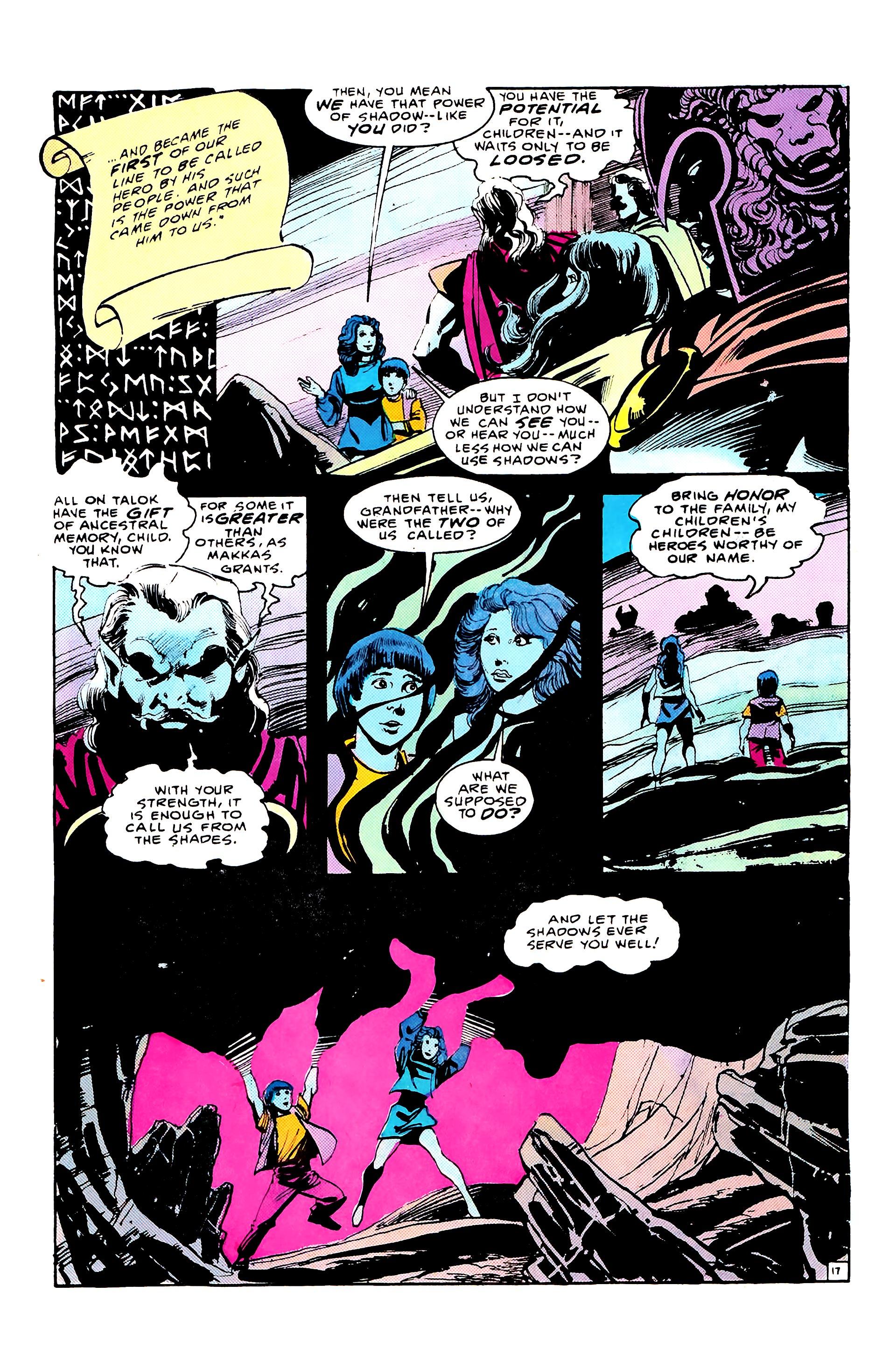 Read online Secret Origins (1986) comic -  Issue #8 - 23