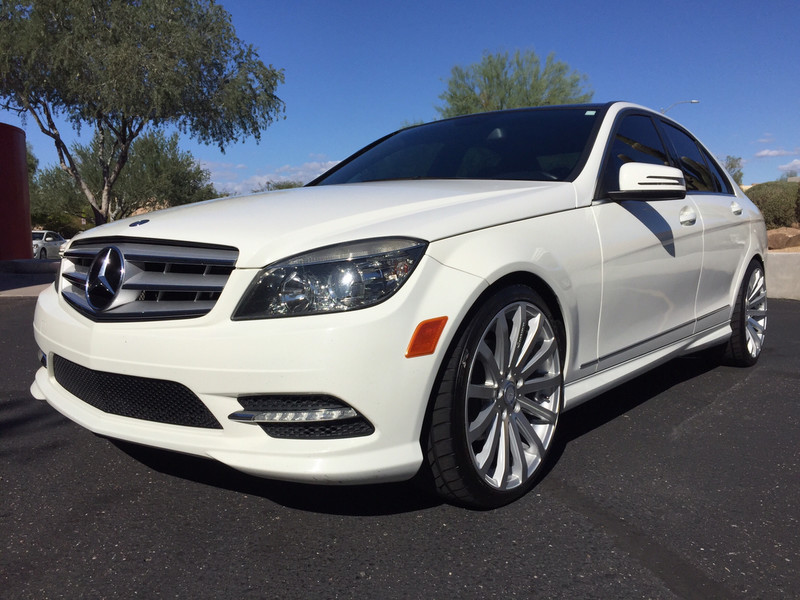 2011 mercedes benz w204 c300 on venerdi caterina rims