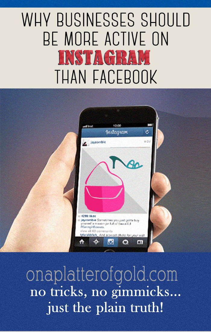 Why Your Business Should Be More Active On Instagram Than Facebook