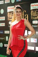 Meenakshi Dixit in Red One Shoulder Red Zipped up gown at IIFA Utsavam Award 78.JPG