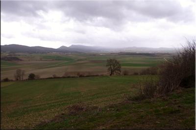 Tierras de labor entre Hereña y Antezana de la Ribera