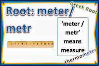 Greek-Root-metr or meter