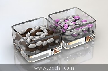 free 3d model candy