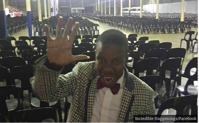 Controversial pastor went to heaven and took a selfie to prove it