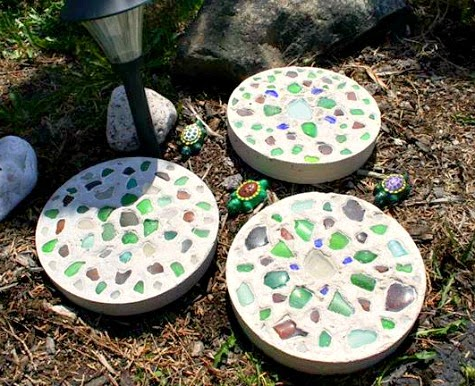 Handmade Stepping Stones