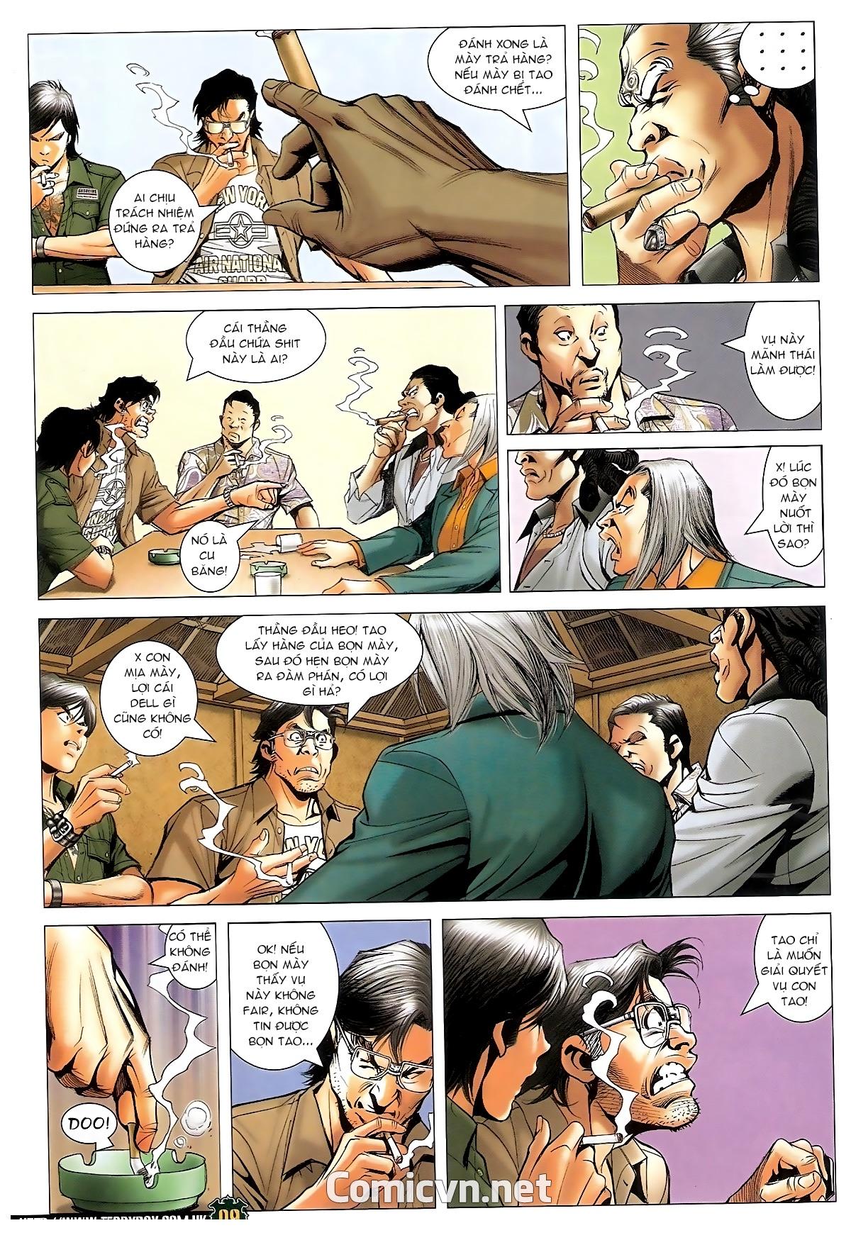Người Trong Giang Hồ - Chapter 1549: Chơi bẩn - Pic 8