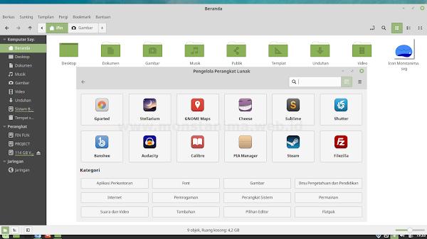 Cara Menyenangkan Ngeblog Dengan Linux Mint