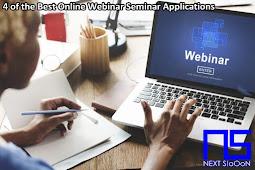4 of the Best Online Webinar Seminar Applications