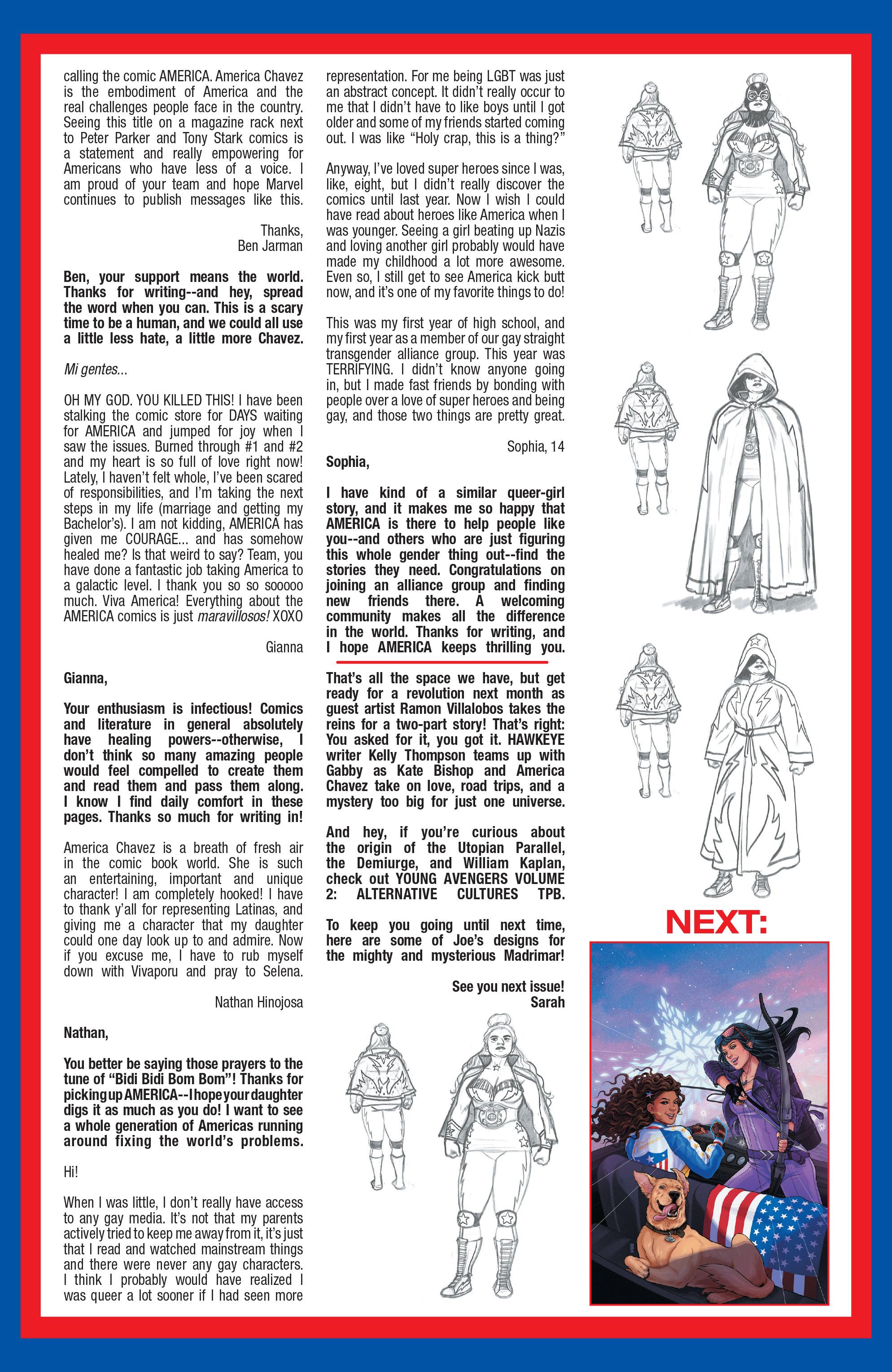 Read online America (2016) comic -  Issue #4 - 22