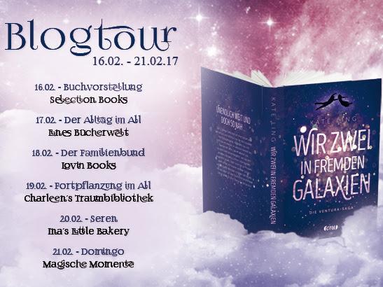 [BLOGTOUR] Wir zwei in fremden Galaxien - Buchvorstellung