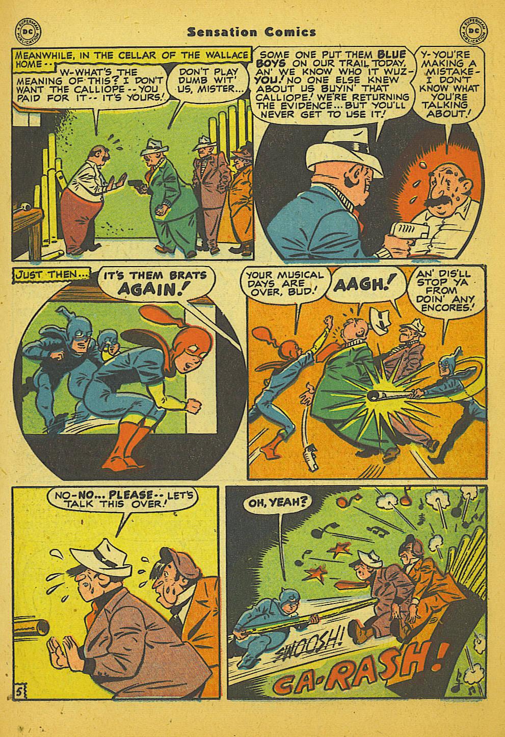Read online Sensation (Mystery) Comics comic -  Issue #66 - 21
