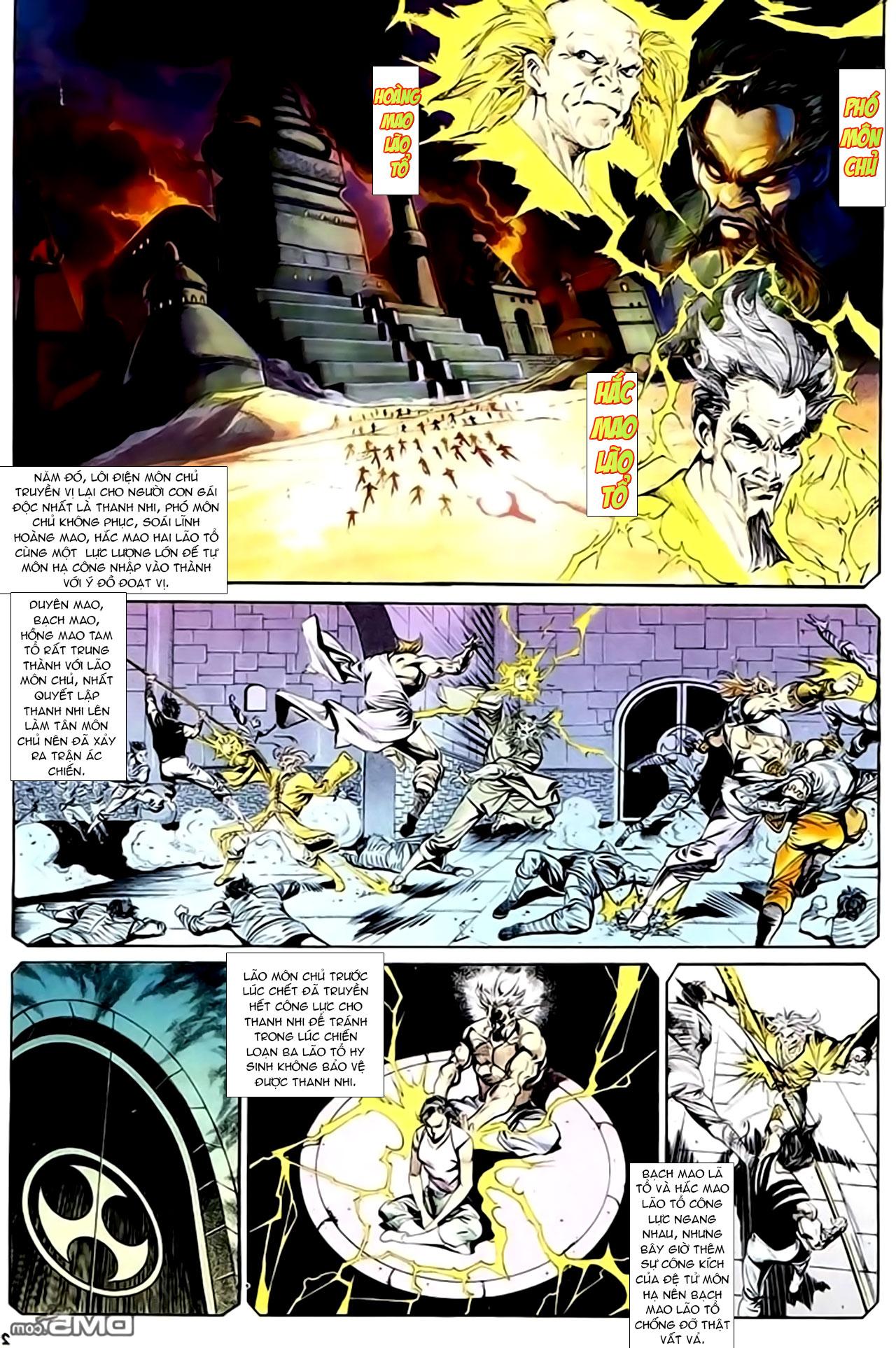 Cơ Phát Khai Chu Bản chapter 127 trang 3