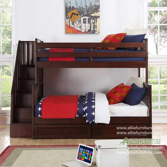 tempat tidur anak susun model denver