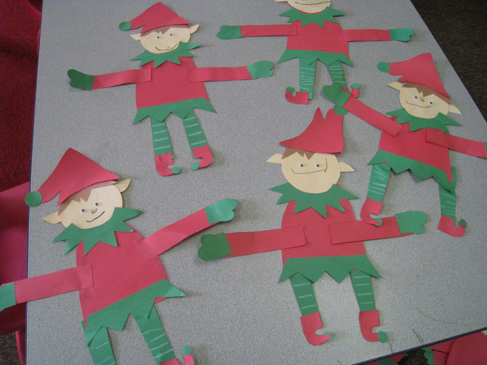 Mrs Russell S Class Elf Activities