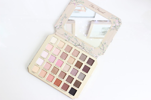 Too Faced natural love palette, makeup haul, makeup, eyeshadow palette, makeup, Too Faced