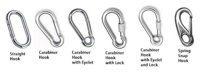 Snap Hook, Cantolan, Pengait. Bubblemakerscuba.com