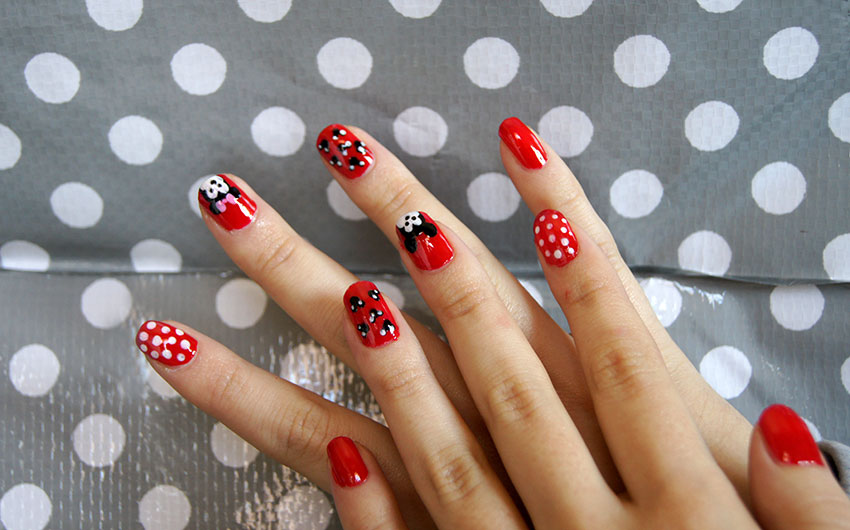 Cult of beauty tuto nail art disney facile et rapide - Nail art facile et rapide ...