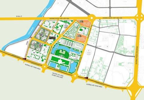 Đường Nguyễn Cơ Thạch kéo dài bắt đầu triển khai: Dự án nào hưởng lợi nhiều nhất?