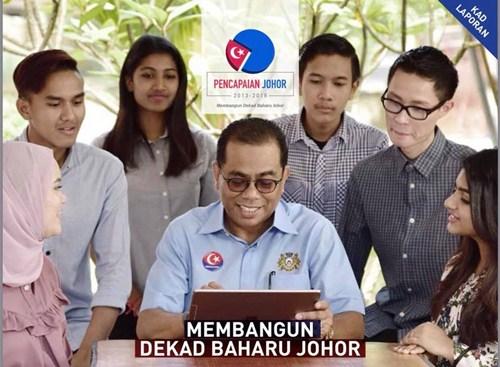 Transformasi Negeri Johor dengan Dekad Baharu Johor