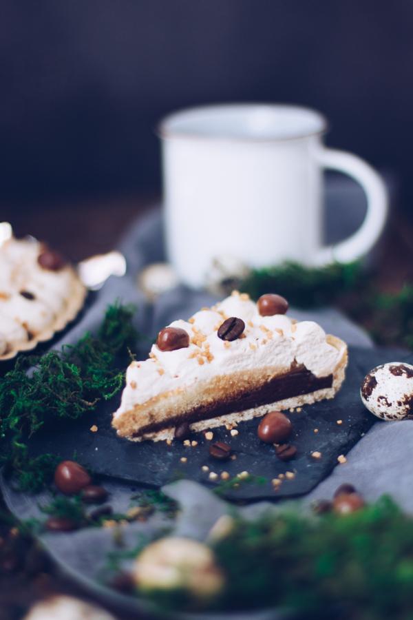 Rezept für leckeren Kuchen mit Kaffee und Schokolade. titatoni.de