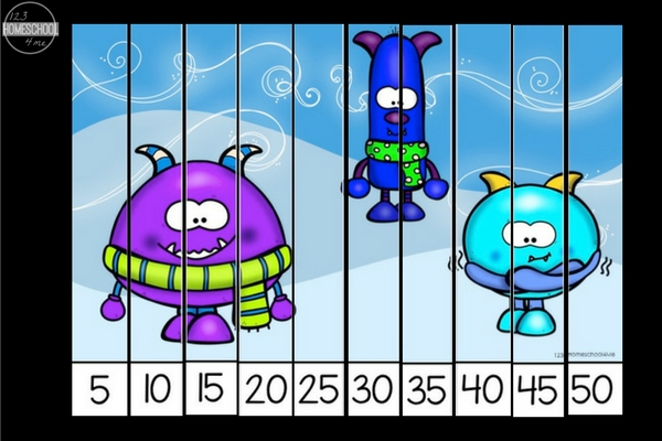 counting by 5's