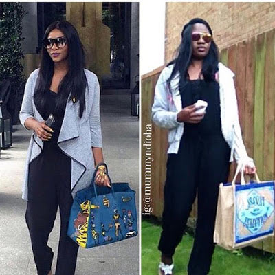 Did she nail it? Woman clones Cossy Orjiakor's look
