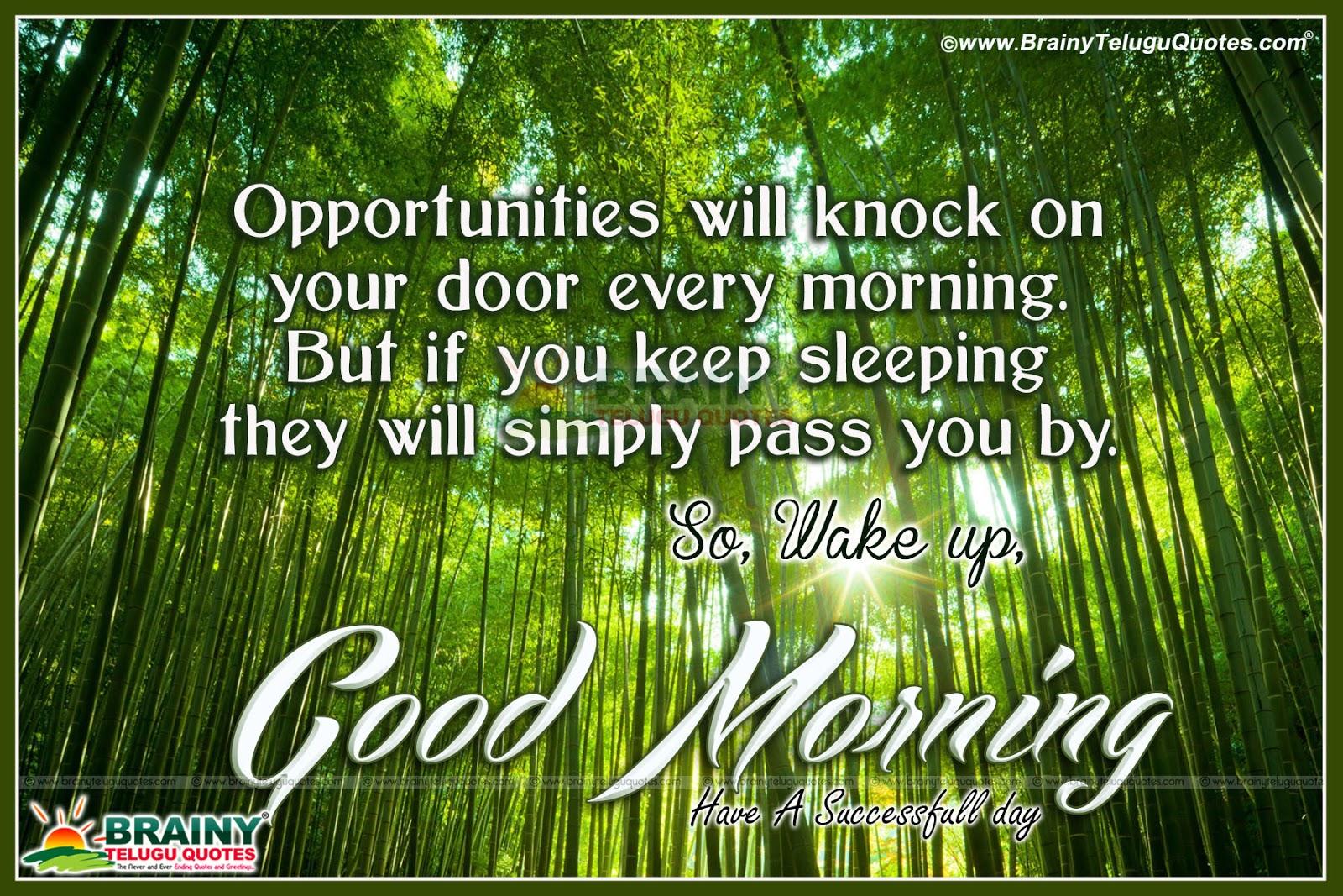 World Is Beautiful Good Morning English Inspiring Quotes