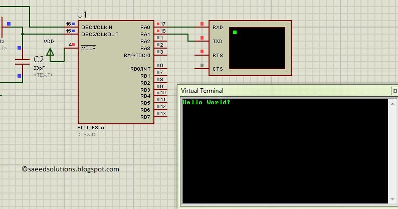 Saeed's Blog: PIC16F84A software UART (bit banging) code +