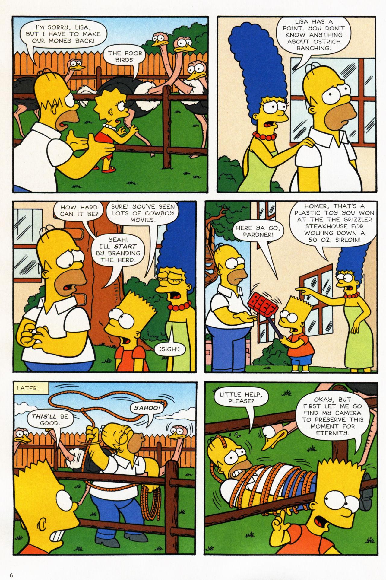 Read online Simpsons Comics comic -  Issue #139 - 7