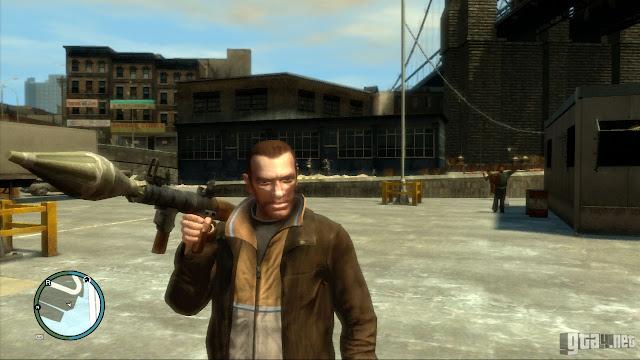 Mod GTA: San Andreas jadi GTA IV