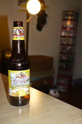 beer bottle - Leinenkugel's Summer Shandy