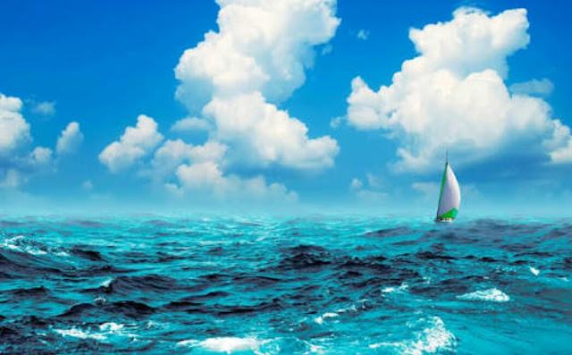 Alasan air laut asin