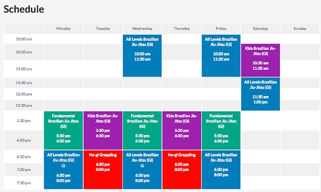chiang mai bjj schedule