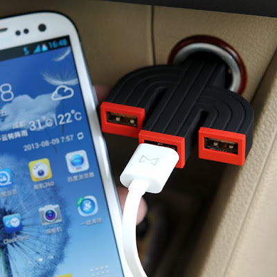 Cactus USB Car Recharger