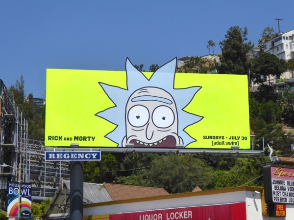 Rick Morty season 3 special extension billboard