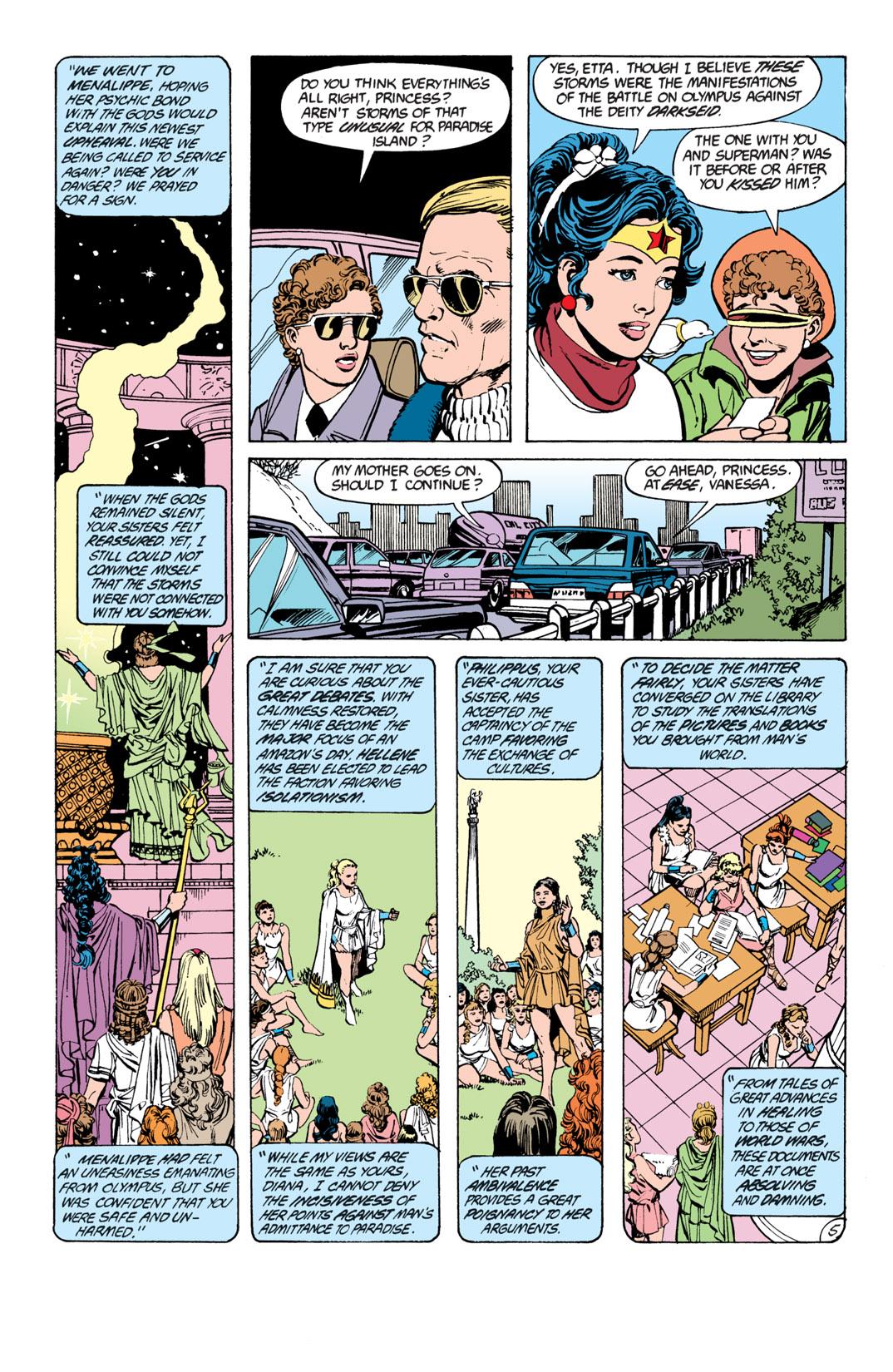 Read online Wonder Woman (1987) comic -  Issue #17 - 6