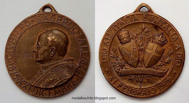 PIO  XI GIVBILEO SACERDOTALE 1879 1929