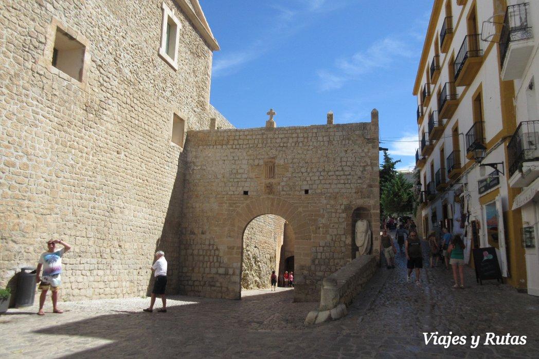 Plaça de la Vila de Ibiza
