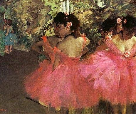 Dançarinas - Edgar Degas e suas principais pinturas ~ O Pintor de Bailarinas