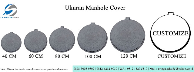 ukuran Manhole Cover Cast Iron