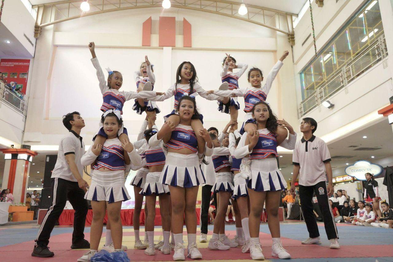 ar cheerleading priversti mesti svorį