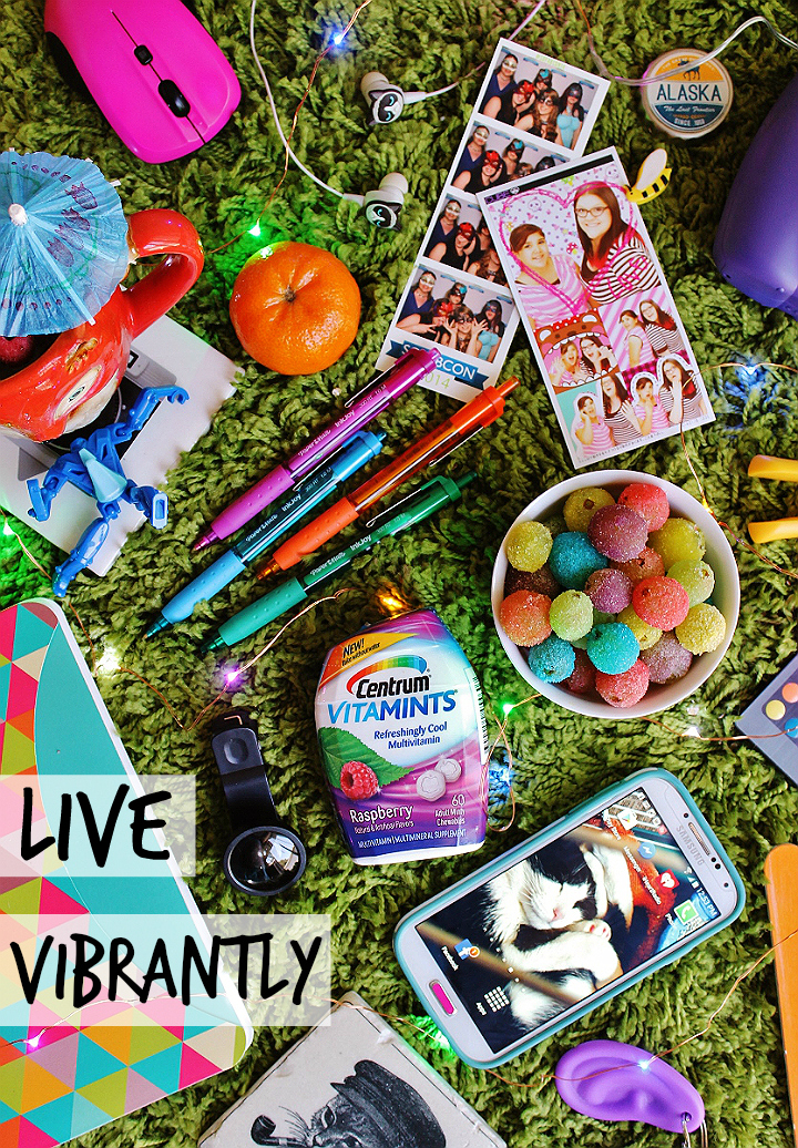 Busy lifestyles demand fun, time saving, solutions like #CentrumFunFlavors multivitamins and supplements from Walmart. Click on over to check out another colorful life hack- Rainbow Grapes! (AD)