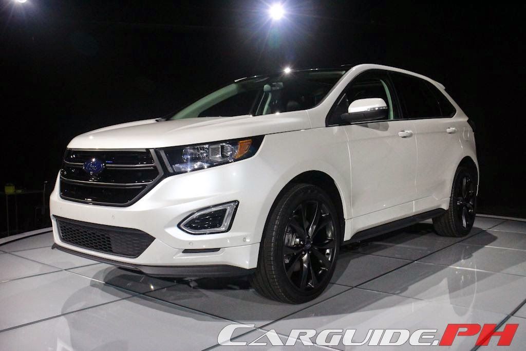 Further With Ford  All New Global Ford Edge Makes Debut Philippine Car News Car Reviews Automotive Features And New Car Prices Carguide Ph